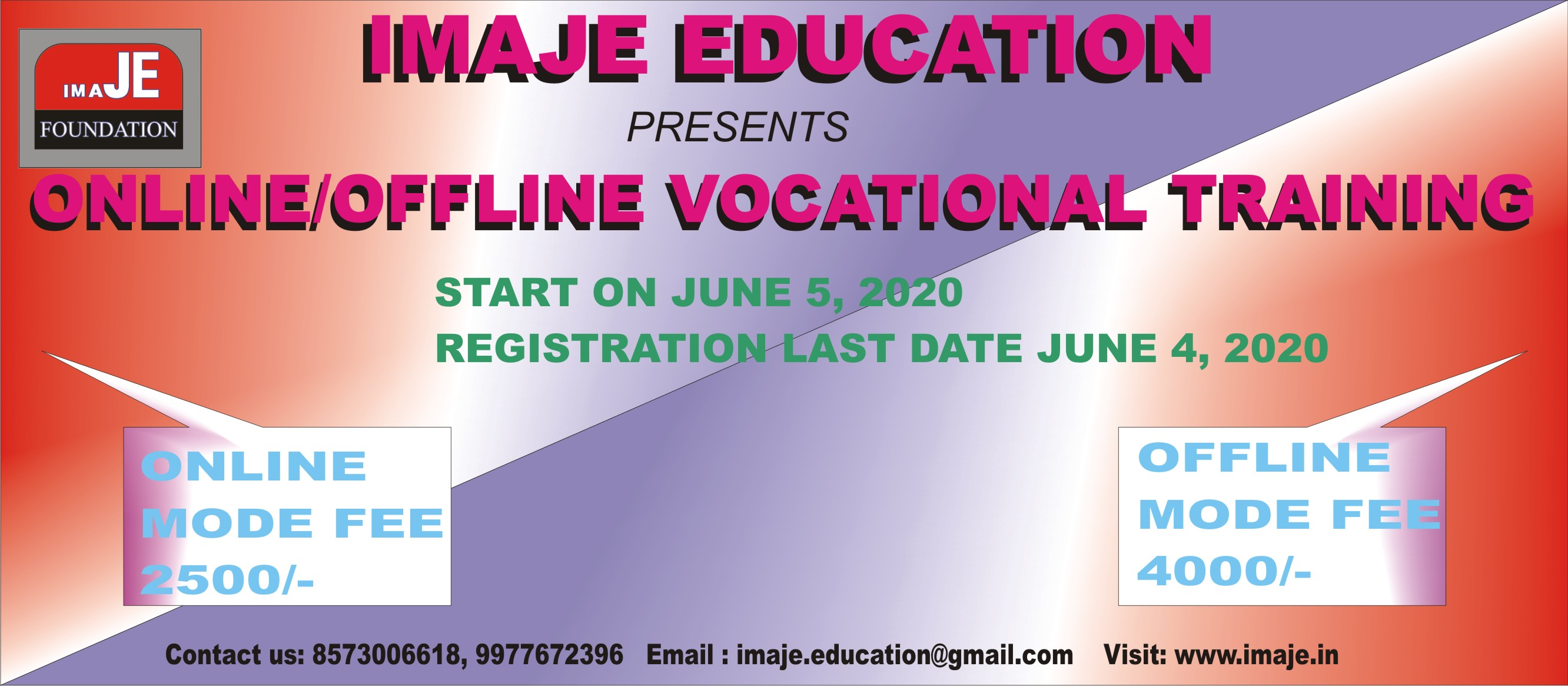 ONLINE VOCATIONAL TRAINING