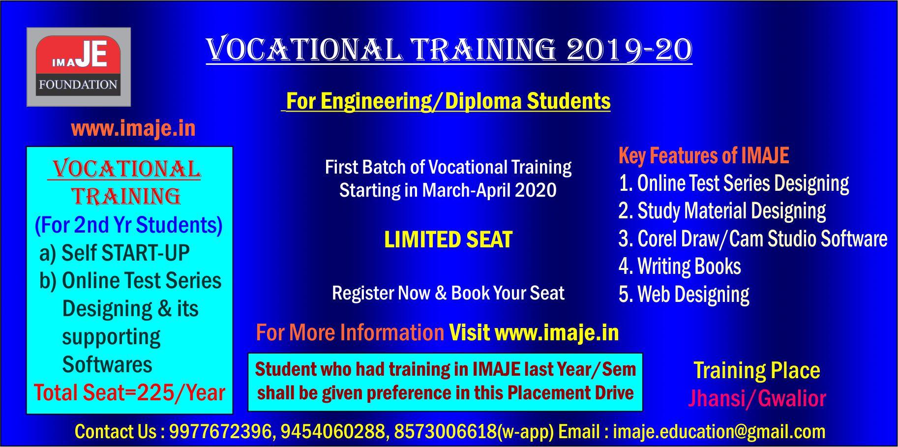 Vocational Training 2020